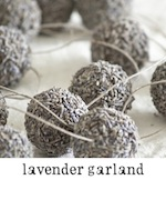 lavender garland freckled laundry button