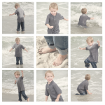 GREY BEACH COLLAGE for blog